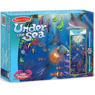 Melissa & Doug Melissa & Doug Under the Sea Floor Puzzle 100pcs
