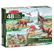 Melissa & Doug Melissa & Doug Dinosaurs Floor Puzzle 48pcs
