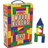 Melissa & Doug Melissa & Doug Wood Blocks 100 pcs