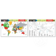 Melissa & Doug Melissa & Doug Write-a-Mat Countries of the World