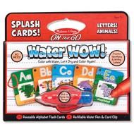 Melissa & Doug Melissa & Doug On the Go Water Wow! - Alphabet Splash Cards_