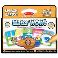 Melissa & Doug Melissa & Doug On the Go Water Wow! - Numbers, Colors, Shapes Splash Cards_