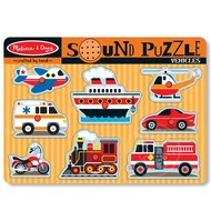Melissa & Doug Melissa & Doug Vehicles Sound Peg Puzzle