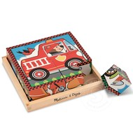 Melissa & Doug Melissa & Doug Vehicles Cube Puzzle 6-in-1_