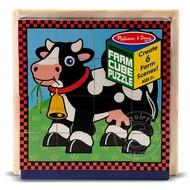 Melissa & Doug Melissa & Doug Farm Cube Puzzle 6-in-1