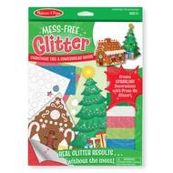 Melissa & Doug Melissa & Doug Mess Free Glitter - Christmas Tree & Gingerbread House