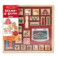 Melissa & Doug Melissa & Doug Stamp-A-Scene Farm Set