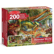 Melissa & Doug Melissa & Doug Dinosaur World Floor Puzzle 200pcs