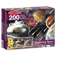 Melissa & Doug Melissa & Doug Exploring Space Floor Puzzle 200pcs