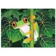 Melissa & Doug Melissa & Doug Red-Eyed Tree Frog Puzzle 60pcs_