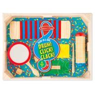 Melissa & Doug Melissa & Doug Band in a Box: Drum! Click! Clack!