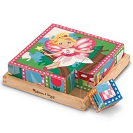 Melissa & Doug Melissa & Doug Princess & Fairies Cube Puzzle 6-in-1_