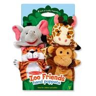 Melissa & Doug Melissa & Doug Zoo Friends Hand Puppets
