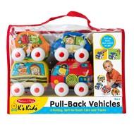 Melissa & Doug Melissa & Doug K's Kids Pull-Back Town Vehicles