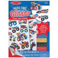 Melissa & Doug Melissa & Doug Mess Free Glitter - Vehicle Foam Stickers_