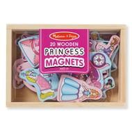 Melissa & Doug Melissa & Doug 20 Wooden Princess Magnets in a Box