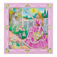 Melissa & Doug Melissa & Doug Peel & Press Sticker By Number Princess Garden_