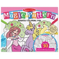 Melissa & Doug Melissa & Doug Magic Pattern Coloring Pad - Pink