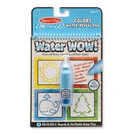 Melissa & Doug Melissa & Doug On the Go Water Wow! Colors & Shapes