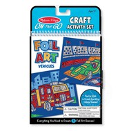 Melissa & Doug Melissa & Doug On the Go Foil Art - Vehicles_