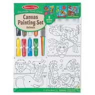 Melissa & Doug Melissa & Doug Decorate Your Own Canvas Painting Set Animal