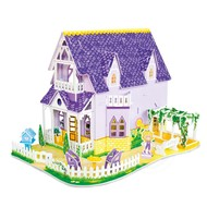 Melissa & Doug Melissa & Doug 3D Puzzle Pretty Purple Dollhouse