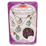 Melissa & Doug Melissa & Doug Jewelry Made Easy Press-a-Pendant Necklace