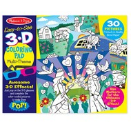 Melissa & Doug Melissa & Doug Easy to See 3D Coloring Pad - Pink_