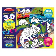 Melissa & Doug Melissa & Doug Easy to See 3D Coloring Pad - Animals_