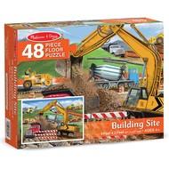 Melissa & Doug Melissa & Doug Building Site Floor Puzzle 48pcs