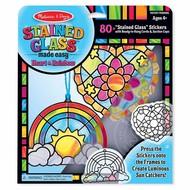 Melissa & Doug Melissa & Doug Stained Glass Made Easy - Heart & Rainbow