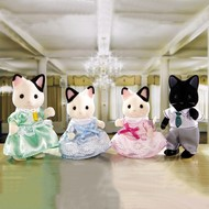 Calico Critters Calico Critters Tuxedo Cat Family