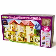 Calico Critters Calico Critters Cloverleaf Townhome Gift Set