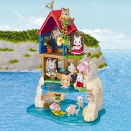 Calico Critters Calico Critters Secret Island Playhouse RETIRED