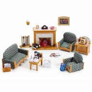 Calico Critters Calico Critters Deluxe Living Room Set RETIRED