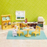 Calico Critters Calico Critters Kozy Kitchen Set RETIRED
