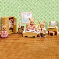 Calico Critters Calico Critters Parents Bedroom Set RETIRED