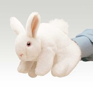 Folkmanis Folkmanis White Bunny Rabbit Puppet