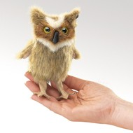 Folkmanis Folkmanis Great Horned Owl Finger Puppet