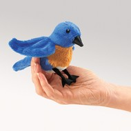 Folkmanis Folkmanis Bluebird Finger Puppet