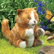 Folkmanis Folkmanis Orange Tabby Kitten