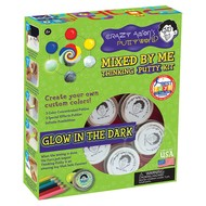 Crazy Aaron's Crazy Aaron's Glow in the Dark Mixed By Me Thinking Putty Kit
