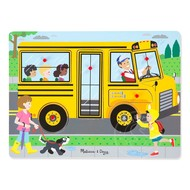 Melissa & Doug Melissa & Doug Wheels on the Bus Sound Peg Puzzle