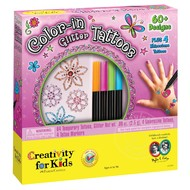 Creativity for Kids Creativity for Kids Color-In Glitter Tattoos