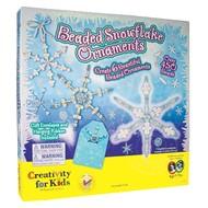 Creativity for Kids Creativity for Kids Beaded Snowflake Ornaments