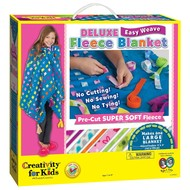 Creativity for Kids Creativity for Kids Deluxe Easy Weave Fleece Blanket