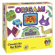 Creativity for Kids Creativity for Kids Origami Super Bright Neon Papers