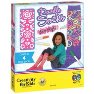 Creativity for Kids Creativity for Kids Doodle Socks Knee High_
