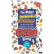 Klutz Klutz The Most Incredible Outrageous Sticker Book