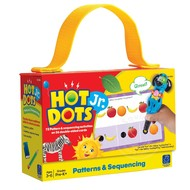 Educational Insights Hot Dots Jr. Flash Cards Patterns & Sequencing